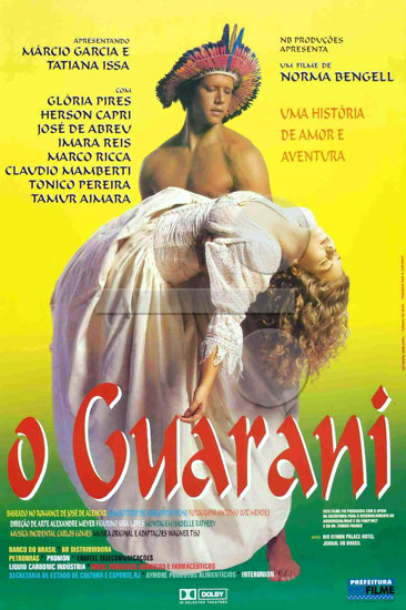 Resultado de imagem para o guarani 1996 filme